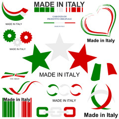 Set loghi Italy