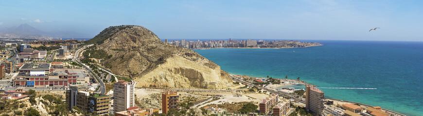 Spane. Alicante.Mediterranean Sea