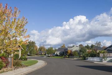 Neighborhood Fall