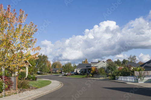 Neighborhood Fall - 64338180