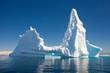 Leinwanddruck Bild - Beautiful Iceberg, Antarctica