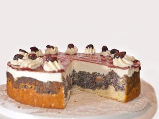 Mohntorte - Mohnkuchen