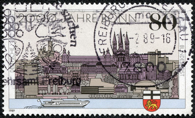 Bonn and the 40th anniversary of the capital West Germany