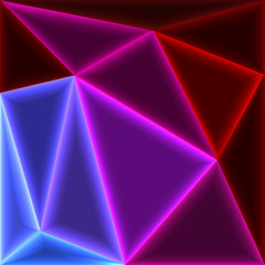 Glow triangles