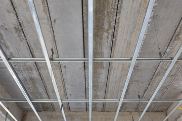 ceiling setup for house building