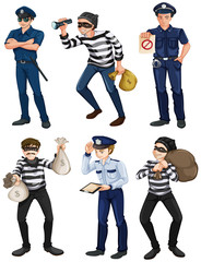 Police officers and robbers