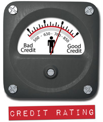 Meter good credit rating report person