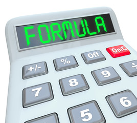 Formula Word Calculator Math Problem Figure Answer