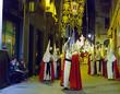 Night procession during Semana Santa