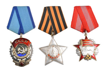 Soviet orders and awards isolated