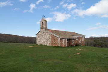 Ermita de San Esteban, Brazuelo, Astorga, León.