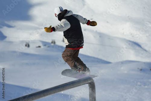 Papiers peints Nautique motorise skier