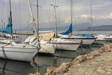 Barche nuvole Monte Baldo