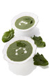 Spinach soup.