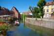 Petite Venise à Colmar , Alsace (Fr).