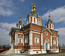 The Cathedral of Feast of the Cross of Kolomna Kremlin