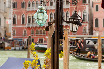 The Grand Canal, Venice, walk along the canals