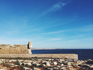 peniche fort by the sea