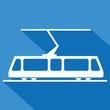 Logo tramway. Tram. - 64351503