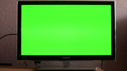 TV(television) - green screen