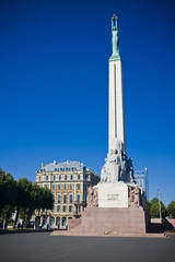 Monument of freedom,Riga, Latvia