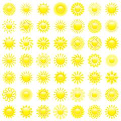 Yellow Sun Symbols
