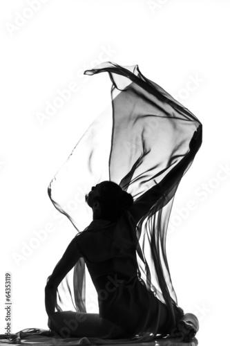 Fotobehang Dance School Butterfly effect