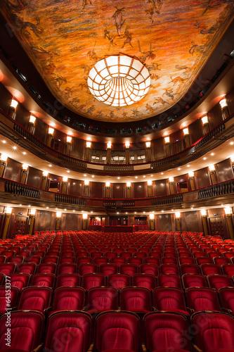 theater interior - 64353377