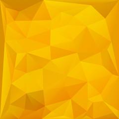 Triangles honey sunflower background