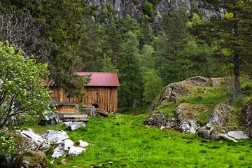 Alm Hütte