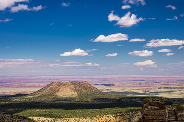 View of Extinct Volcano from Desert View at the Grand Canyon