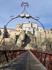Puente de San Pablo en Cuenca