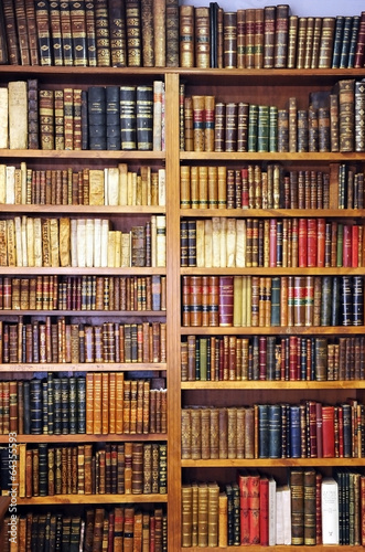Old books, library - 64355593