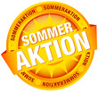 "Button Banner ""Sommeraktion"" gelb"