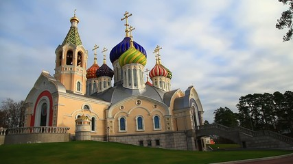 The temple of the Holy Prince Igor of Chernigov, Pededelkino