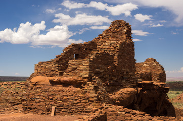 Pueblo Ruins in Wupatki National Monument