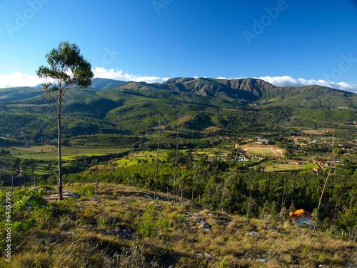 Papiers peints Amérique du Sud Landscape around Samaipata village