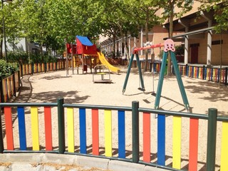 a playground for children