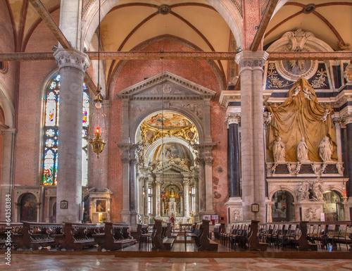 Venice - Interior of Basilica di san Giovanni e Paolo - 64358384