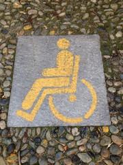 simbolo per parcheggio riservato