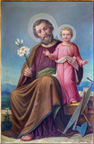 Roznava - Paint of St. Joseph in the cathedral - 64358957