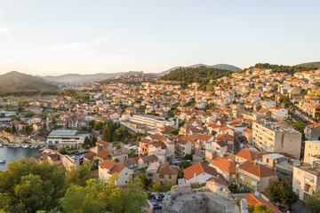 View of Sibenik, Croatia