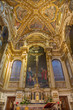 Постер, плакат: Bologna Main presbytery of baroque church San Girolamo
