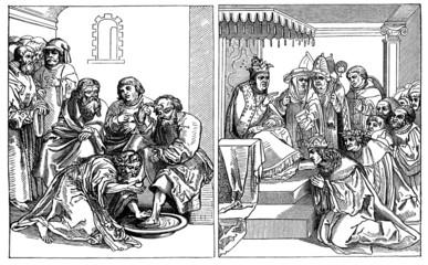 Christ & Antichrist - Medieval Christian Scene