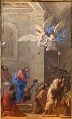 Bologna - Communio of the apostles in Chiesa Corpus Christi.
