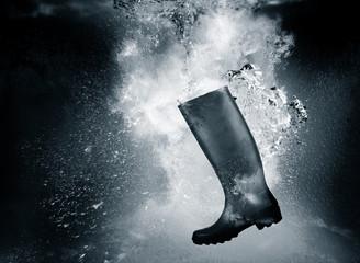 sinking welly