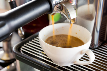 Fresh Espresso coffee