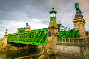 Schemerlbrücke, Wien, Österreich