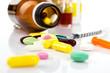 medicaments  and  syringe