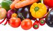 ripe of fresh vegetables